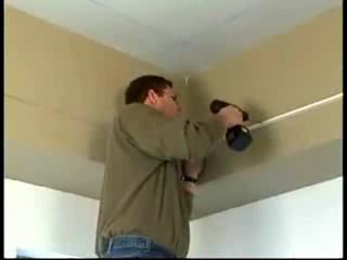 طريقة تركيب الاسقف المعلقه ديكور المنازل والفيلات